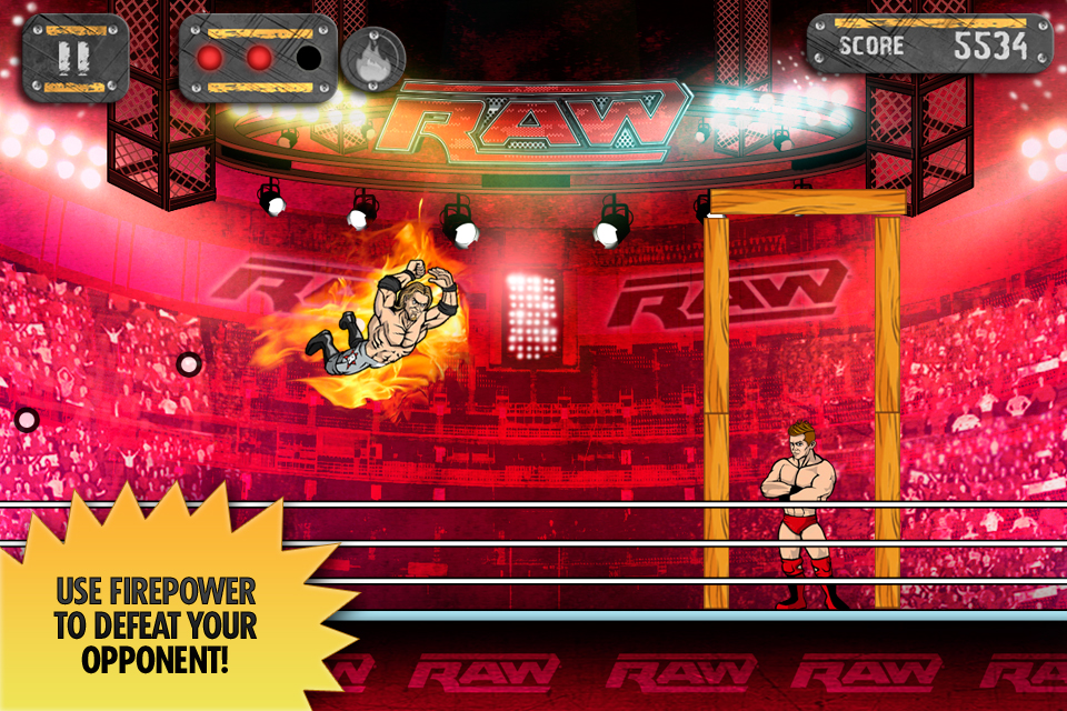 Screenshot WWE Superstar Slingshot